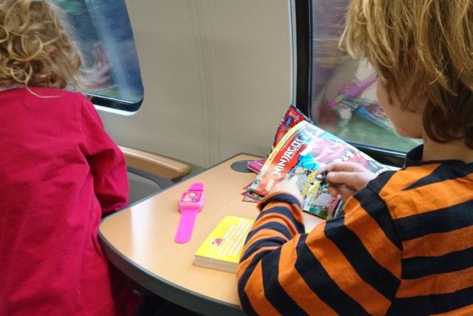 Zugfahren mit Kindern