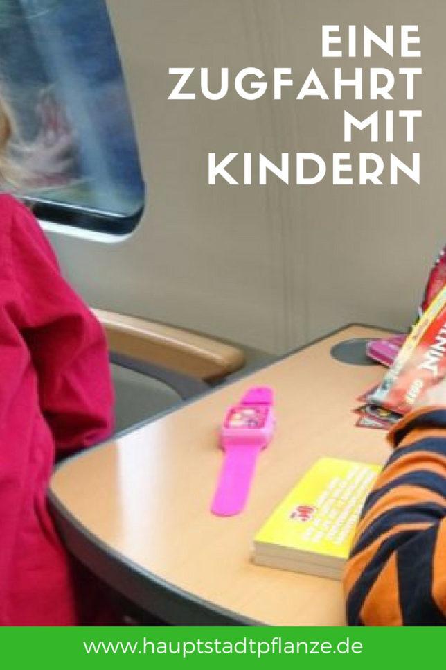 Ist Zugfahren wirklich einfacher, wenn die Kinder größer werden? Ein Versuch.