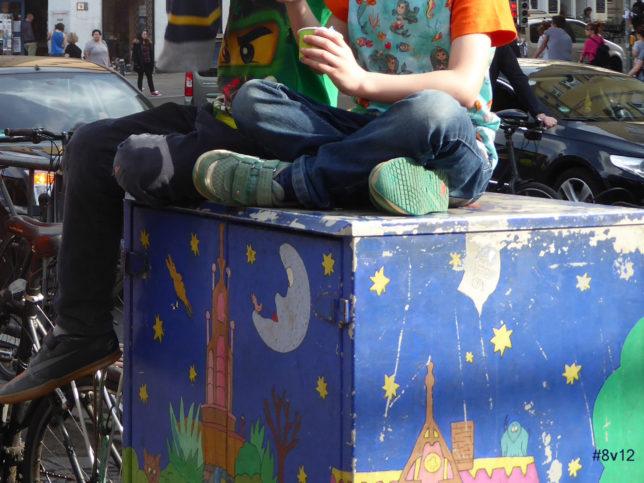 Sitzmöbel für Großstadtkinder - Hauptsache, es gibt Eis!