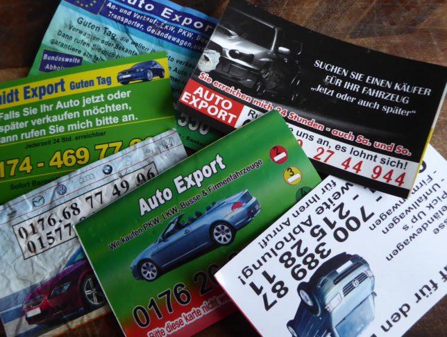 Autokarten als heiße Währung | was Kinder in der Stadt gerne sammeln