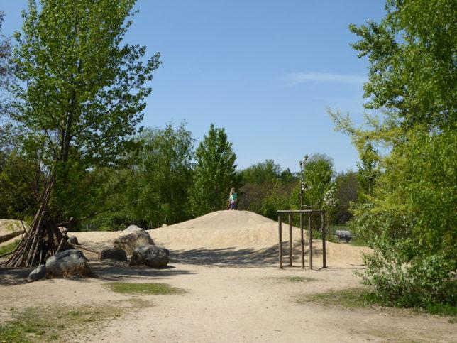 Naturerfahrungsraum Gleisdreieckpark   Natur für Großstadtkinder