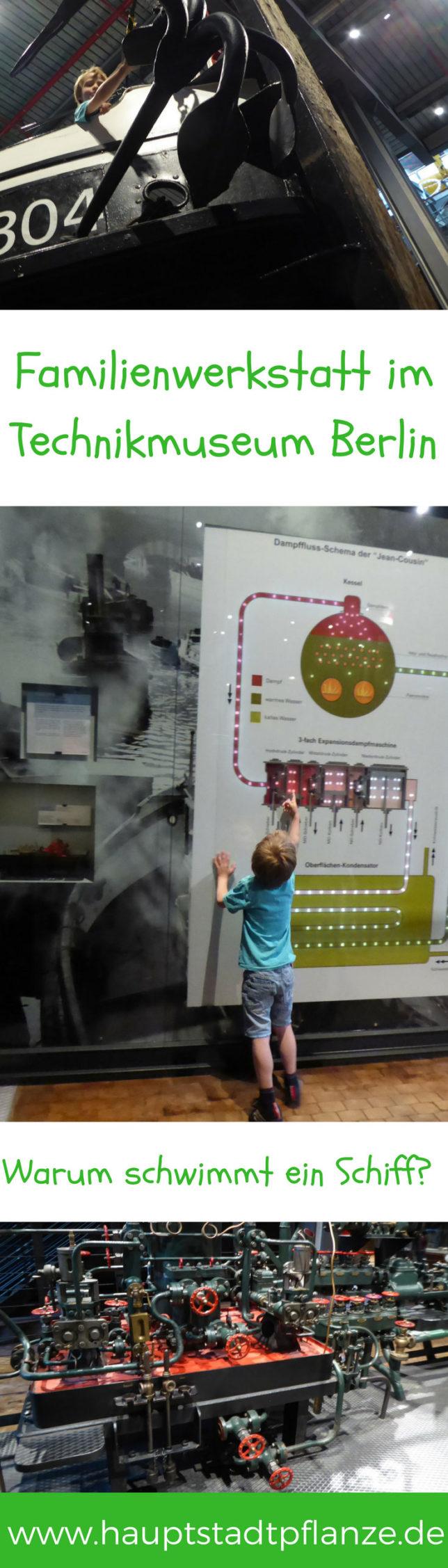 Technikmuseum Berlin - Experimente für Kinder in der Familienwerkstatt. Ausflugstipp!
