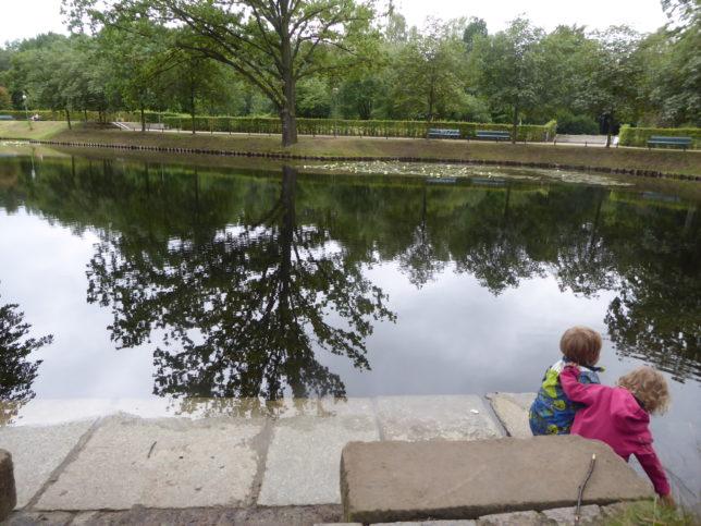 See im Tiergarten Berlin