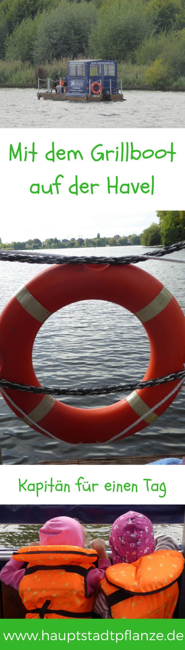 Picknick auf dem Wasser! Mit dem Grillboot über Havel und Wannsee als Ausflugstipp Berlin und Brandenburg