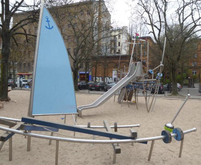 Spielplatz Marheinekehalle