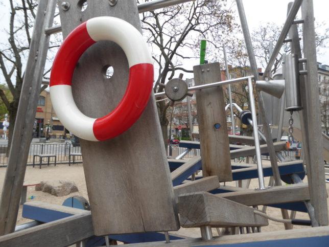 Klettergerüst Schiff