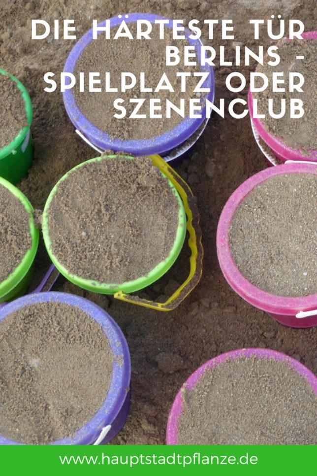Früher hatten wir auf Partys weniger Sand im Schuh. Und doch haben angesagte Szeneclubs in Berlin und Spielplätze erstaunlich viel gemeinsam.