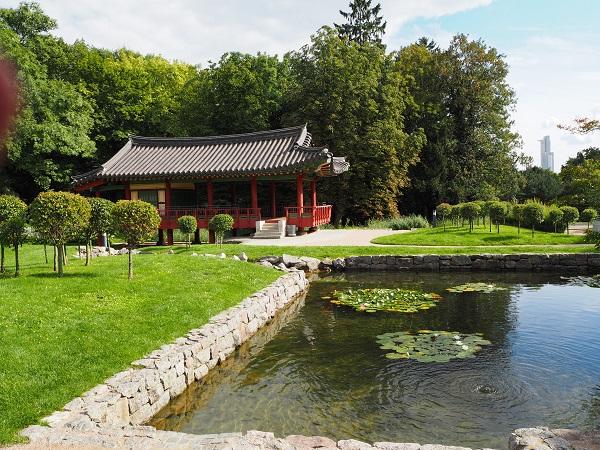 Grueneburgpark Frankfurt
