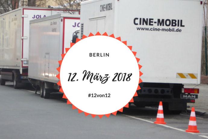 #12von12 im März 2018 | Fernsehteam vor dem Haus