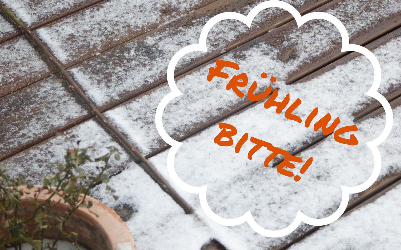 10 Gründe, warum endlich Frühling sein soll!