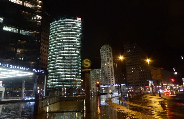 Lichter der Stadt | Potsdamer Platz nach dem Kino | Berlin bei Nacht