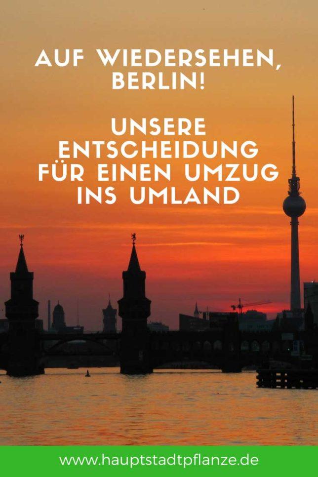 Umzug mit der Familie aus Kreuzberg an den Stadtrand