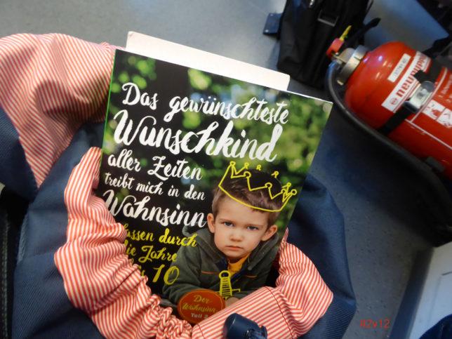 12 von 12 Das gewünscheste Wunschkind im Rucksack