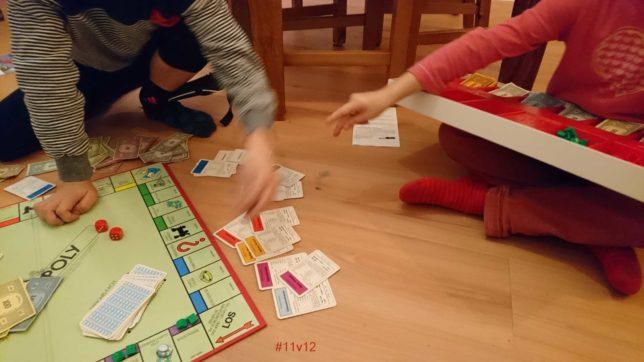 Herbsttag mit Monopoly