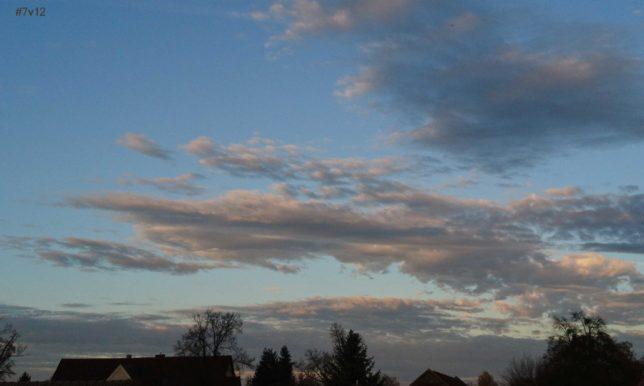 Wolkenpracht im Herbst