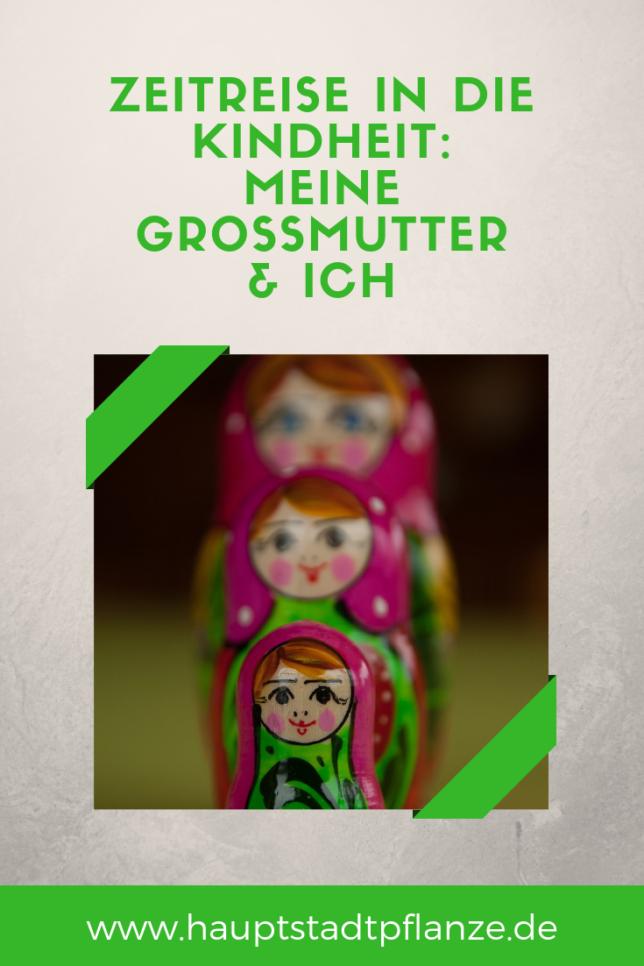 Als Kind, Teenie und junge Erwachsene: Erinnerungen an meine Oma. Blogparade Zeitreise.