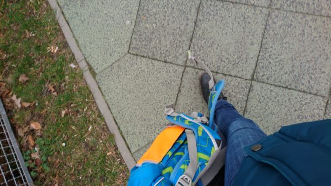 schwere Schulranzen - wer trägt sie?