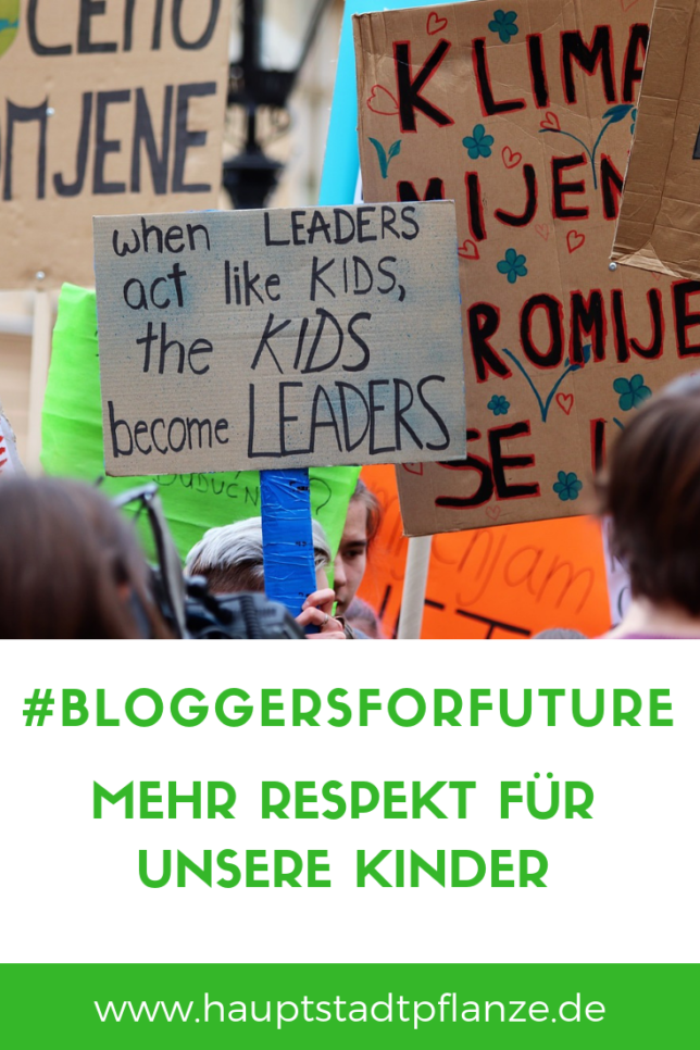 Fridays for Future: Solidarität mit unseren streikenden Kindern
