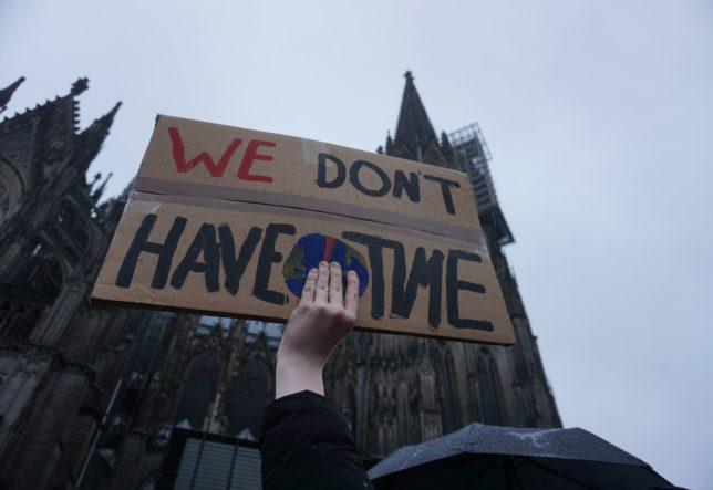 Solidarität für School Strike 4 Climate