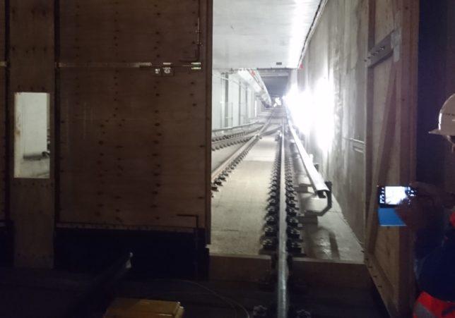 Projekt U5 alter Tunnel zum Lückenschluss